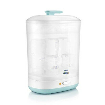 Philips AVENT Natural Cleaner Baby 2-in-1 Electric Steam Steriliser Wide Bottles