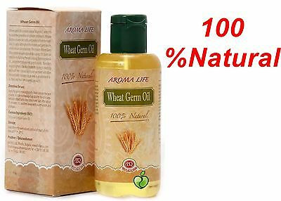 100 %Natural Wheat Germ Oil For Face,Skin & Hair Stimulates Collagen & New Cell
