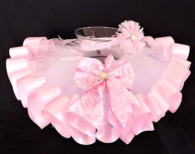TUTU BABY GIRL-TODDLER,GIRL,BABY,INFANT, NEW BORN-2 PIECES-FITS 0- 2t - HANDMADE
