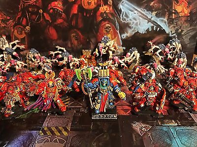 Warhammer 40K PAINTED MINIATURES Space Hulk 4th edition