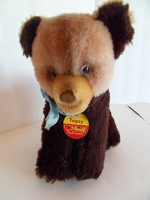Steiff bear Tapsy chest name tag Germany 1266