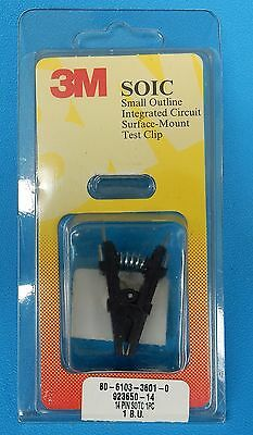 "3M 923650-14 SOIC  14 Pin Test Clip For .150"" Narrow Packages"