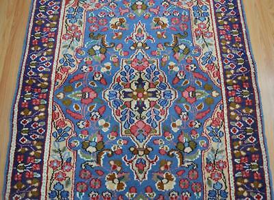 3'3x4'9 Great Colors Genuine Persian Kerman Hand Knotted Oriental Wool Area Rug