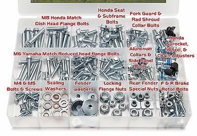 CR CRF HONDA SPEC Fasteners Bolt Kit CRF250R CRF450R CR85 CR125 CR250 CR500