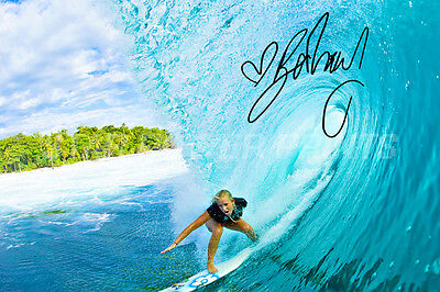 Bethany Hamilton Pre Signed Photo Print Poster - 12 X 8 Inch   A+ Quality