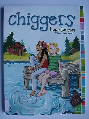 Hope Larson - Chiggers paperback graphic novel comic book