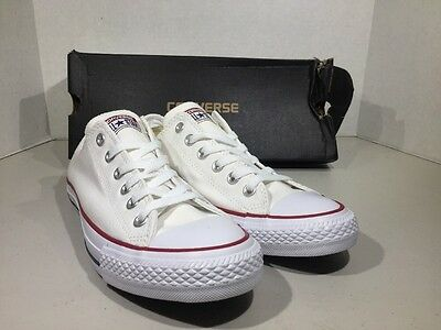 CONVERSE Unisex CT All Star Ox Optical White Size W 9 M 7 Canvas Shoes XJ-87