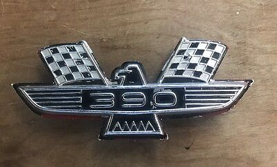 1962 1963 1964 Ford Galaxie Fender Emblem Flags Bird Xl 500 All Original
