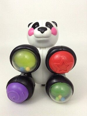 Fisher Price REPLACEMENT Amazing Animals Clickers Toy Panda Bear Rattle baby toy