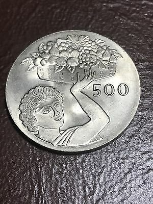 1970 CYPRUS  FAO  500 MILS, 36.07 mm Approx.  - #5