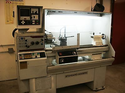 Standard-Modern CM-1440 Fagor 800 CNC Lathe w/Tooling Excellent Ready to Work!
