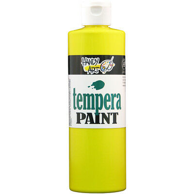Handy Art Tempera Paint 16oz Yellow 201-010