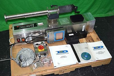 Industrial Dynamics Lasetec II CO2 Package Coding Etching Laser Production Line