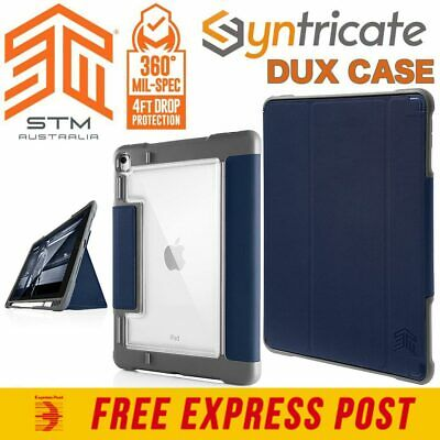 STM DUX PLUS ULTRA PROTECTIVE FOLIO CASE FOR iPAD AIR 10.5/ iPAD PRO 10.5 - BLUE