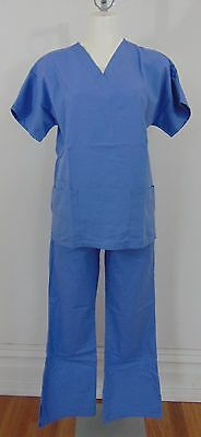 Authentic Cherokee Blue Women's Scrubs Size Xs        (A7700)