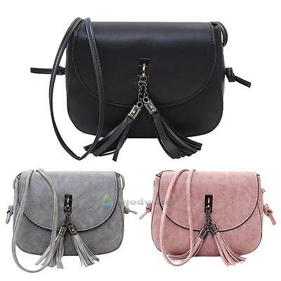 Women Tassel Handbag Shoulder Bags Tote Purse Messenger Satchel Bag Cross Body