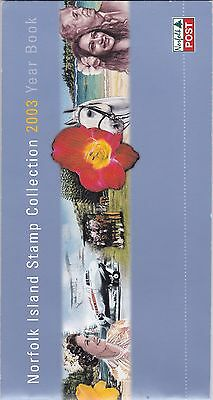 2003 Year Book with 7 sets & 2 mini sheets ST334