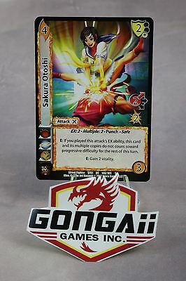 Street Fighter CCG - Sakura Otoshi #146 Uncommon