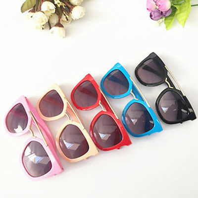Anti-UV Goggles Baby Boys Metal Sunglasses Dark Glasses Candy colors Girls Kids