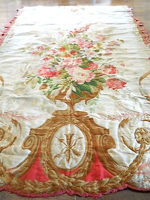Circa 1790 Antique Floral Aubusson Tapestry