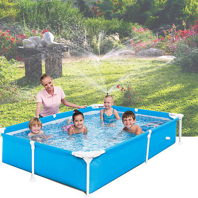 Large Family Swimming Pool Garden Outdoor Summer Inflatable Kids Paddling Pools>