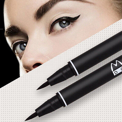 Women Fast-drying Black Waterproof Eyeliner Liquid Eye Liner Pen Makeup Pencil