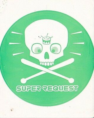 STICKER. JJJ - triple j Super Request decal