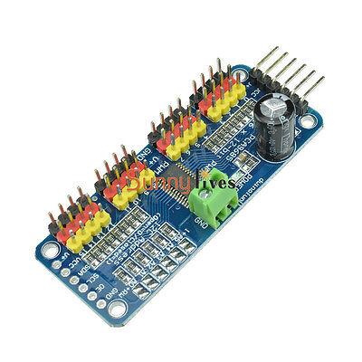 PCA9685 12-bit 16 Channel PWM Servo Motor Driver I2C Module Robot For Arduino
