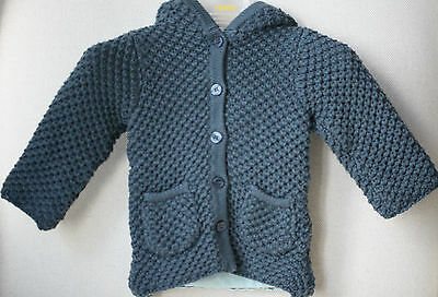 C De C By Cordelia De Castellane Baby Cotton Knitted Coat 3 Months