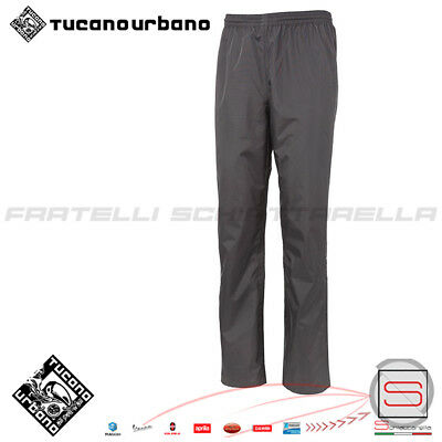 Pantalone Antipioggia Moto Scooter Tucano Urbano Diluvio Light Plus