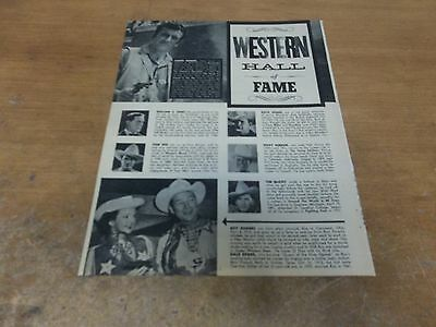 James Arness Roy Rogers Dale Evans   clipping #707