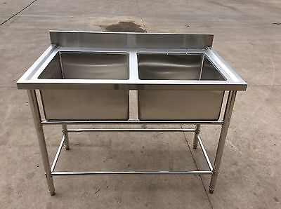 Brand New Double Bowl Sink 1200 x 700 x 900