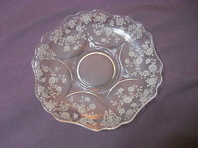 "Cambridge Rosepoint Saucers 5 3/4"" (7)"