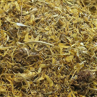 CALENDULA FLOWER Calendula officinalis DRIED Herb, Medicinal Herbal Tea 50g