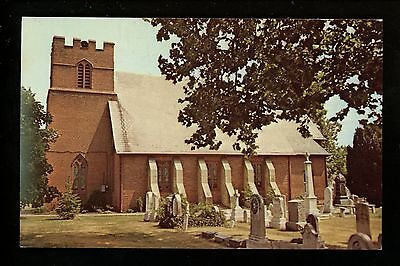 St. Stephen's Episcopal Church postcard Seaford, Delaware DE