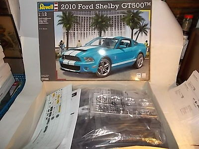 revell 1 12 bausatz ford mustang shelby gt 500 t p. Black Bedroom Furniture Sets. Home Design Ideas