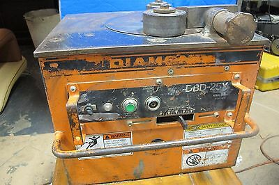 DIAMOND DBD-25X Heavy Duty Rebar Bending