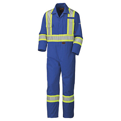 Pioneer Flame Resistant Cotton Safety Coverall 42T
