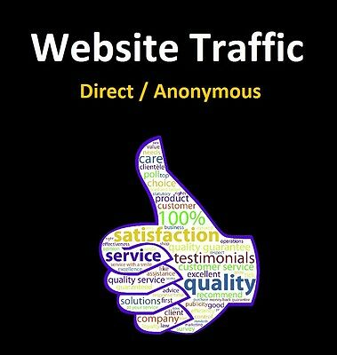 Website Traffic Direct / Anonymous 10,000 Hits