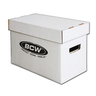 BCW 1-BX-SHORT BCW Short comic storage box stackable holds about 150-175 comics