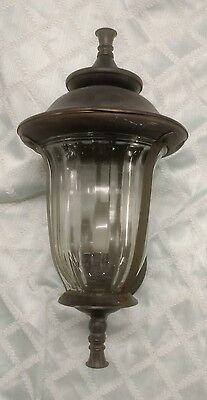 Vintage Outdoor Porch Sconce Lantern Moe Light Mid Century Carriage Light A10