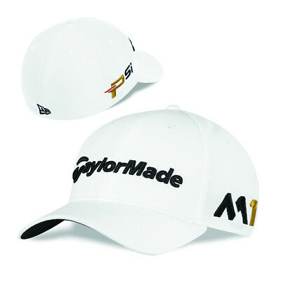 39607d210b7 TaylorMade New Era Tour 39Thirty M1 TOUR EDITION Fitted Hat White XS S