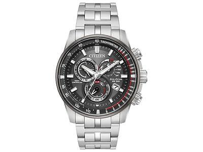 Citizen Eco Drive PCAT Radio Controlled Perpetual Men's Silver Watch AT4129-57H