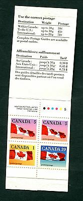 MNH Canada Booklet with Scarce Perfs #BK111a (Lot #B430)
