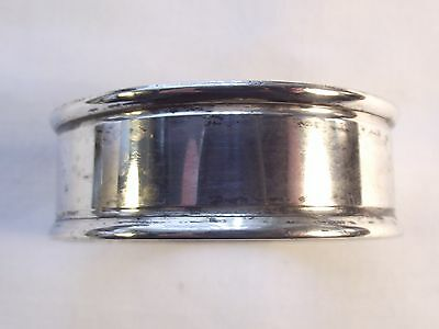 Sterling Silver Napkin Ring Chester 1918