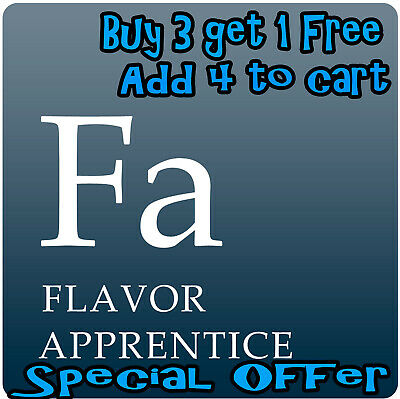 TFA  The Flavour Apprentice Concentrate Flavouring 10, 30, 60 ml
