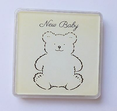 NEW BABY Lucky Sixpence Newborn  For Boy Girl KEEPSAKE  Box Christening Gift (Y)
