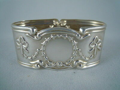 Solid Silver Oval Napkin Ring Sheffield 1995