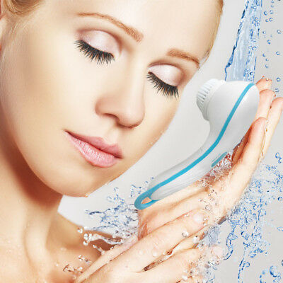 UK Spin Spa Cleansing Facial Brush 2 Cleansing Attachments the Best Way to Clean