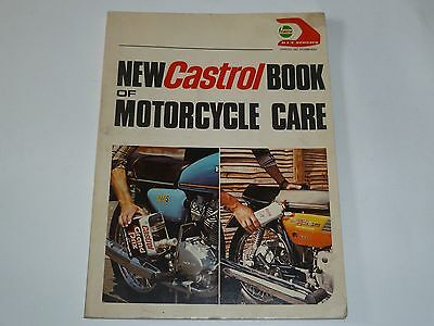1976 New Castrol Book Of Motorcycle Care